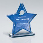 Star Double Layer Cutout on Base Achievement Awards