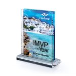 Multi-Dimensional Lucite with Center Cutout Employee Awards