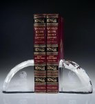 Faceted Bookends Employee Awards